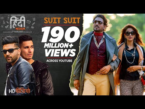Thumbnail: Suit Suit Video Song | Hindi Medium | Irrfan Khan & Saba Qamar | Guru Randhawa | Arjun