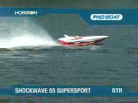 ShockWave 55 Super Sport RTR by Pro Boat