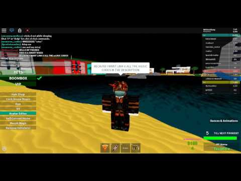 Roblox Music Ids Look In The Description Youtube