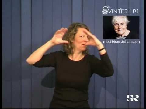 SR P1: Vinter med Elsie Johansson, del 5 av 7
