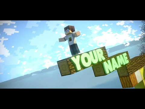 FREE Epic Minecraft Blender Intro Template #212 + FULL Tutorial