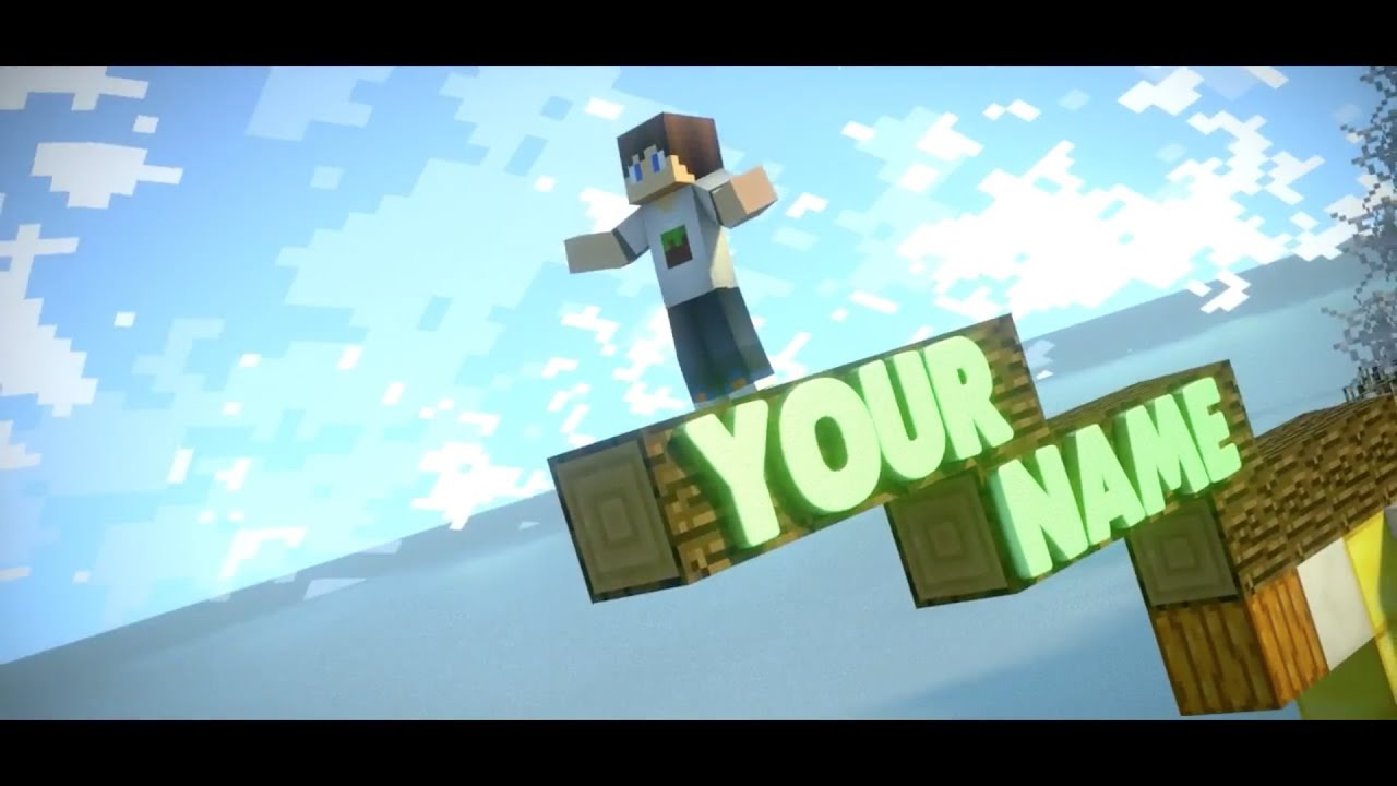 FREE Epic Minecraft Blender Intro Template #212 + FULL Tutorial ...