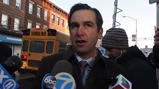 Jersey City Mayor calls kosher supermarket shooting an act of anti-Semitic domestic terrorism