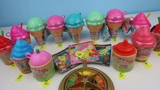 Smooshy Mushy Party! Renk değiştiren Squishy vs Smooshy Mushy Sürpriz Dondurma Challenge Toy Video