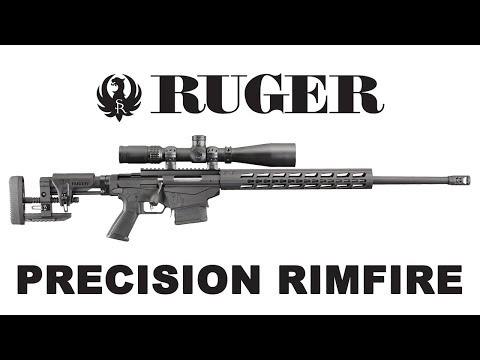 The new Ruger Precision Rimfire rifle