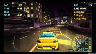 NFS Underground Rivals Playstation Portable Gameplay