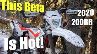 This 2020 Beta 200RR is a Hot Dirt Bike!
