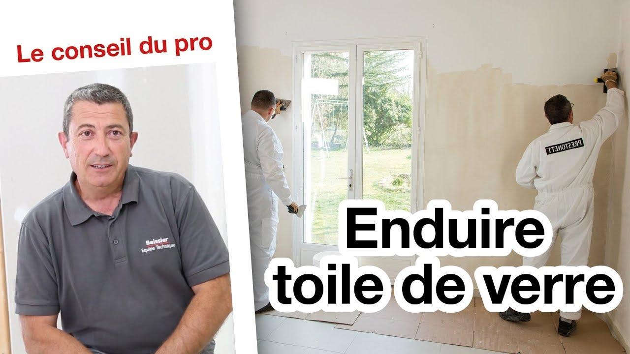 Toile À Enduire Plafond comment enduire une toile de verre ? | le conseil du pro
