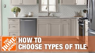 Types of Tile: How to Choose What's Best for You