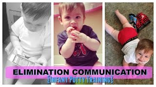 How my son  potty trained before 1 // Elimination Communication (infant Potty training basics)