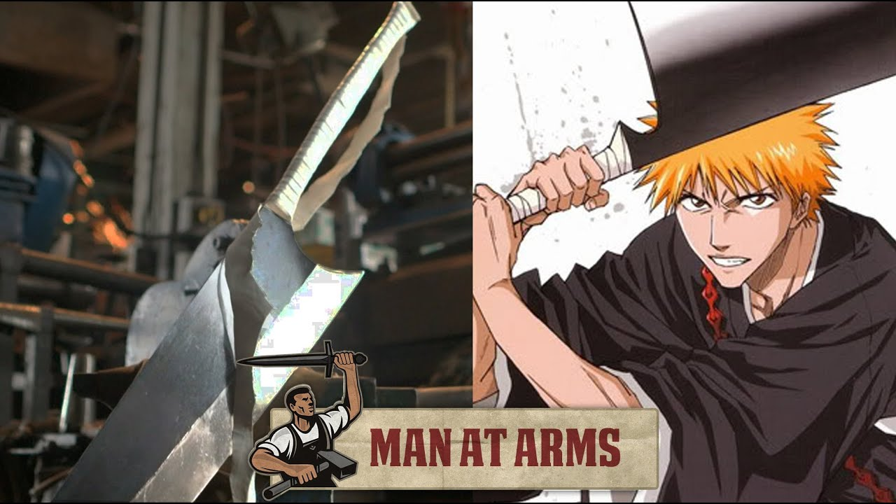 Ichigo's Zangetsu Sword (Bleach) - MAN AT ARMS - YouTube