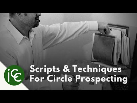 Circle Prospecting Scripts & Techniques for Real Estate Agents - YouTube