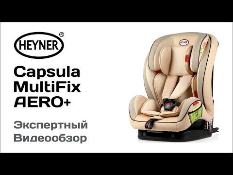Автокресло Heyner Capsula MultiFix AERO+ обзор Супермаркета Детских Автокресел
