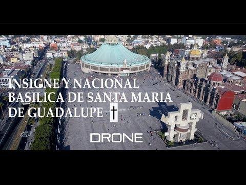 Basilica De Santa Maria De Guadalupe 2018 4K Drone