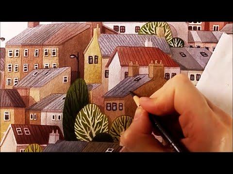 "Watercolor Illustration ""Irish"