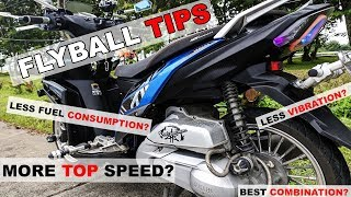 FLYBALL TIPS : MALAKAS NA HATAK OR MATAAS NA TOP SPEED | TIPID SA GAS