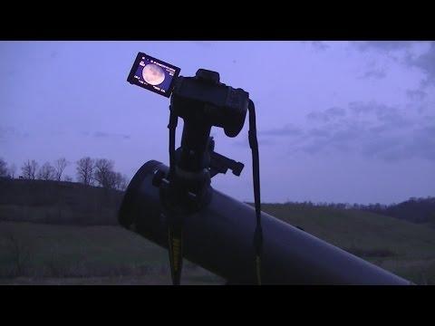 Connecting a  Nikon DSLR Camera to a Telescope