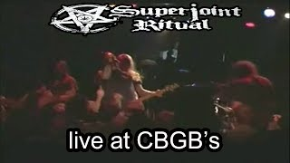 Superjoint Ritual [RECITAL COMPLETO] LIVE at CBGB