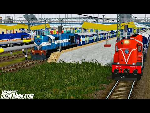 Nagpur Junction - Rewa Superfast Express || KYN WDP4D || MSTS Open Rails Journey Part 1