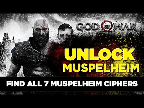 God Of War 4 - All 7 MUSPELHEIM Cipher Locations 1