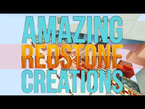 Minecraft: 10 Amazing Redstone Creations - Farms and Games