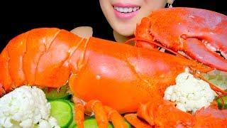 ASMR HUGE  LOBSTER | SEAFOOD BOIL | EATING SOUNDS NO TALKING | TracyN ASMR