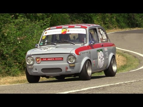 FIAT Abarth 1000 OT - Hillclimb Action, On Board & Pure Engine Sound