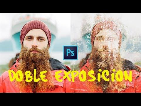EFECTO DOBLE EXPOSICIÓN EN PHOTOSHOP   TUTORIAL   LEO AMAYA thumbnail