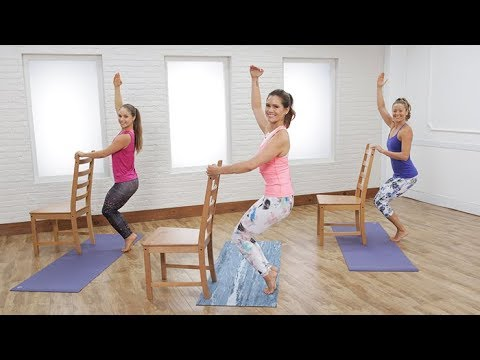 30-Minute Yoga-Barre Hybrid Workout to Empower Your Body & Mind