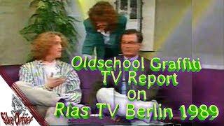 "Oldschool Graffiti TV report 1989 RiasTV Berlin Siko Ortner Michael Godling Risky ""3%"" ""3Percenter"""