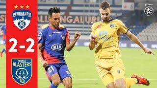 Hero ISL 2018-19 | Bengaluru FC 2-2 Kerala Blasters FC | Highlights