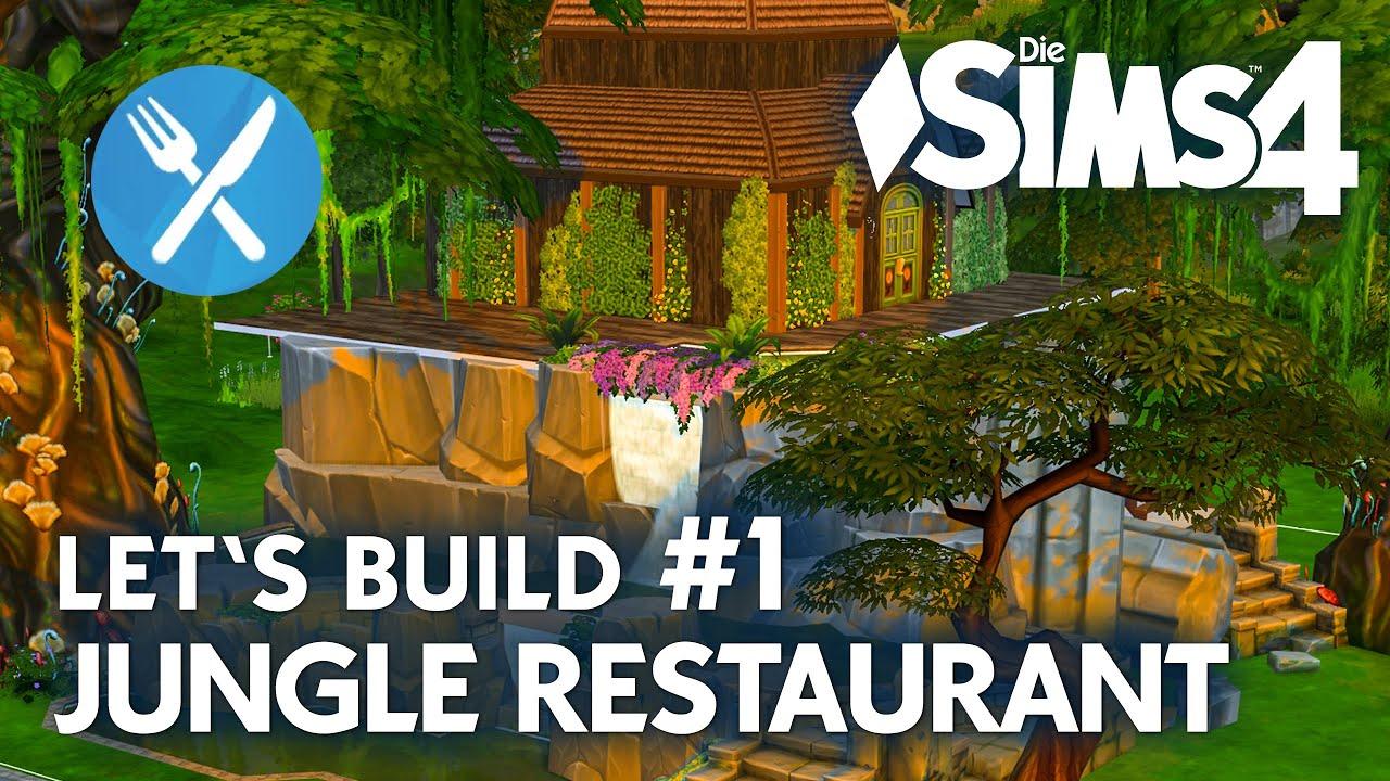 Die sims 4 gaumenfreuden release showcase restaurant gameplay pack - Die Sims 4 Let S Build Jungle Restaurant Bauen 1 Deutsch Youtube