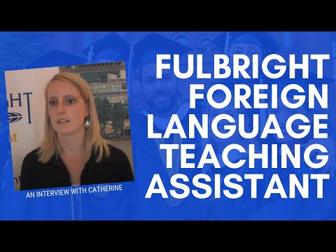 Fulbright French Language Teaching Assistant: Catherine Dardenne