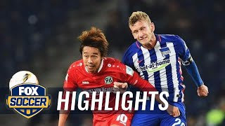 Video Gol Pertandingan Hannover 96 vs Hertha Berlin