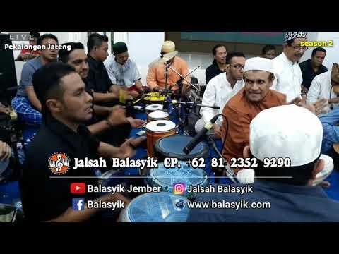 Mansur & Fahad Munif beraksi... JALSAH BALASYIK JEMBER live Pekalongan
