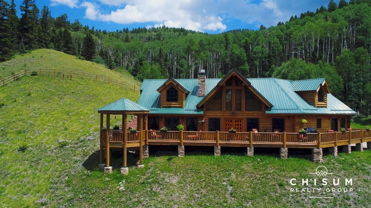 nm the river cabin red on rental retreat right vacation cabins homeaway