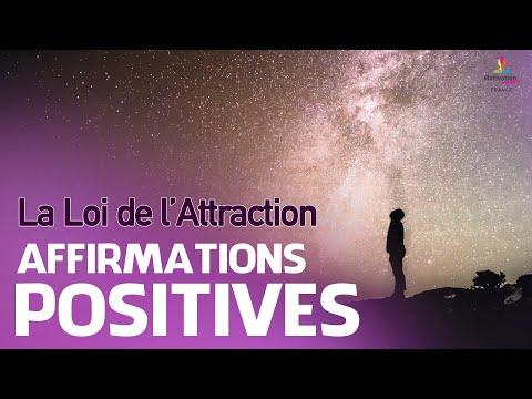 Affirmations positives   La Loi De L'Attraction   Motivation Online