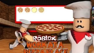 Roblox-Working at a Pizza Restaurant! #2