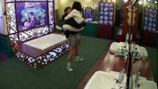 Fu**ing in Secret Room Stephanie and Jeremy Big Brother 2017 june