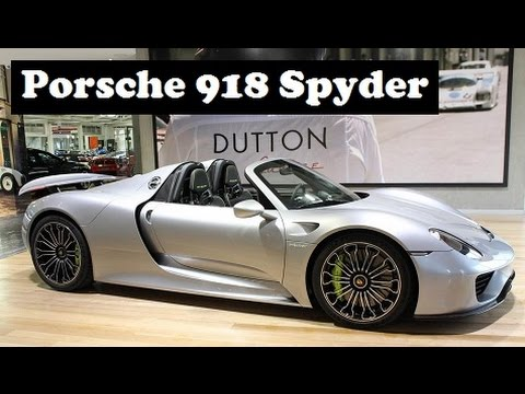 brand new porsche 918 spyder painted in silver and has just 30 km on its odo youtube. Black Bedroom Furniture Sets. Home Design Ideas