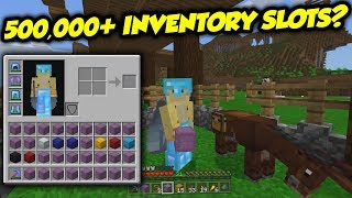 How Andamp Why You Can Hold 500000 Items At Once In Survival