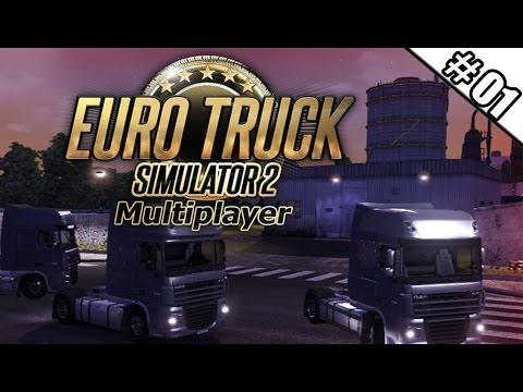 Euro Truck Simulator 2 Multiplayer #01 - Auf nach Dresden! ★ Let's Play ETS 2
