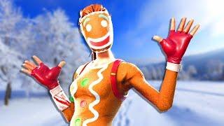 Si veo una piel de Navidad, el video termina - Fortnite
