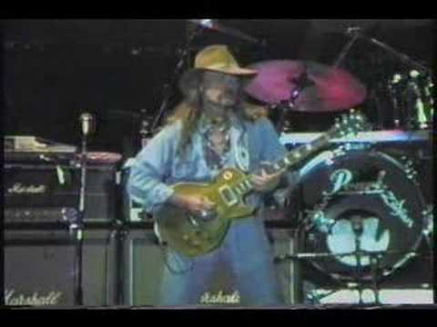 Allman Brothers Band - Blue Sky - Jones Beach LI 8-31-90