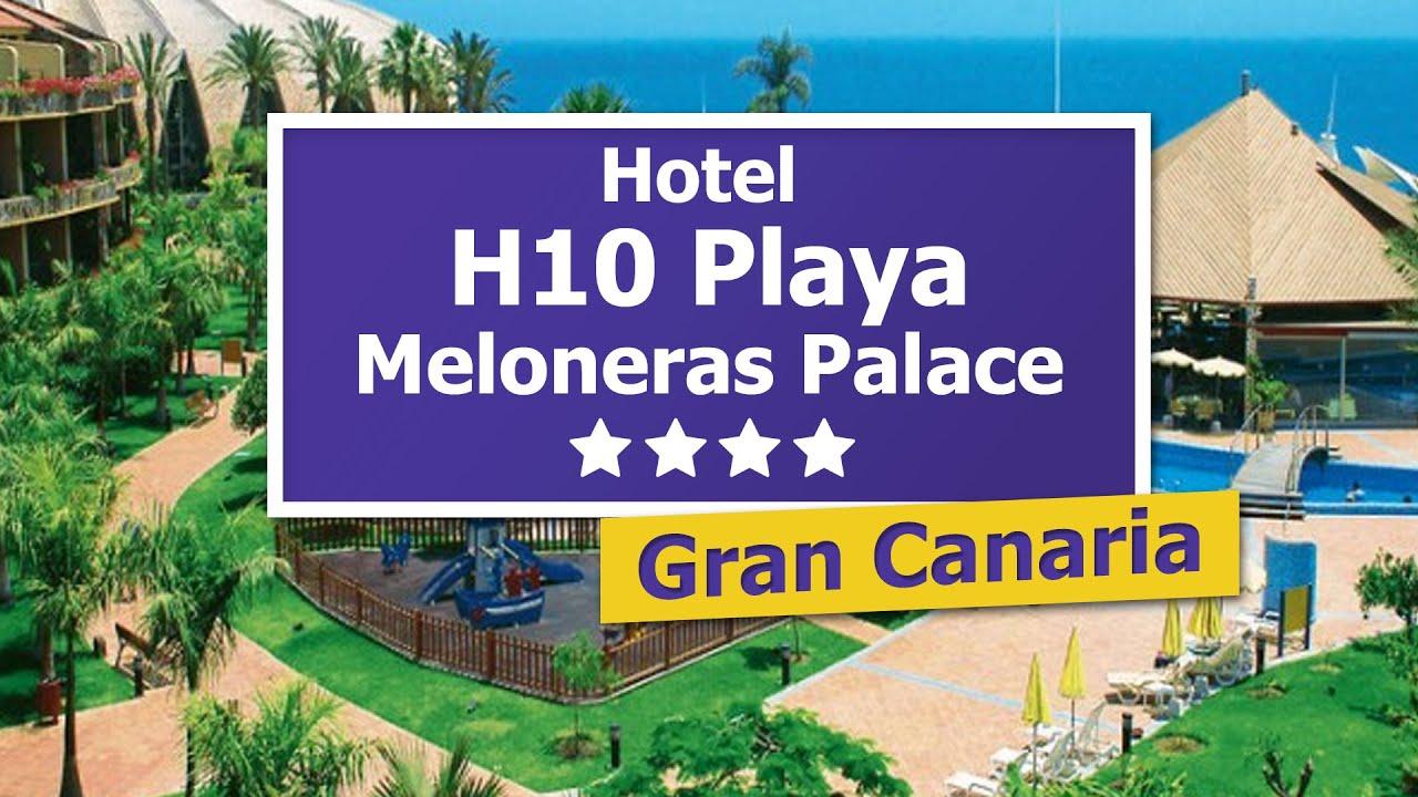 H10 playa meloneras palace 4 urlaubtipp auf gran for Hoteles 4 estrellas gran canaria