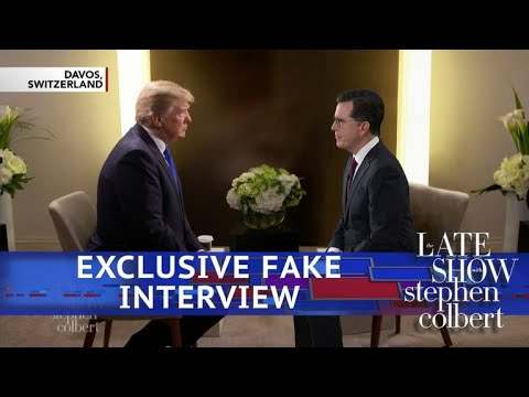 Stephen Interviews Piers Morgan's Interview Of Donald Trump