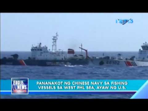 US rejects Chinese naval intimidation in West Philippine Sea