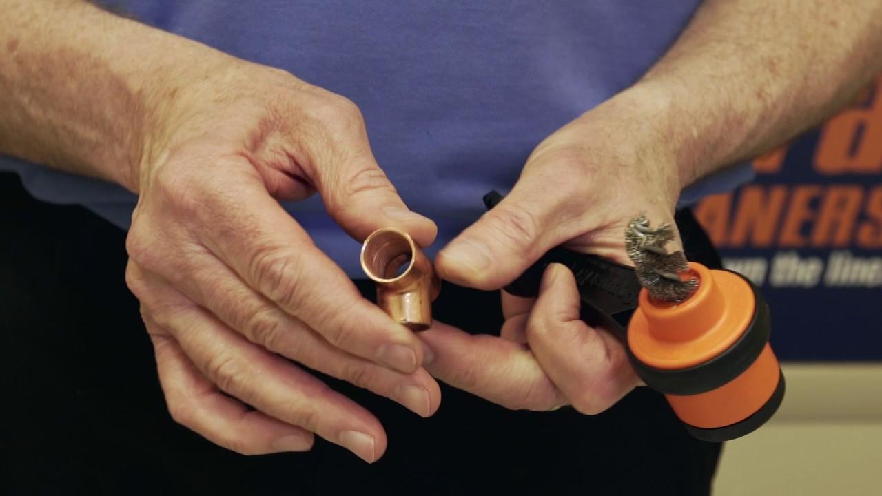 CopperKey copper tubing prep tool