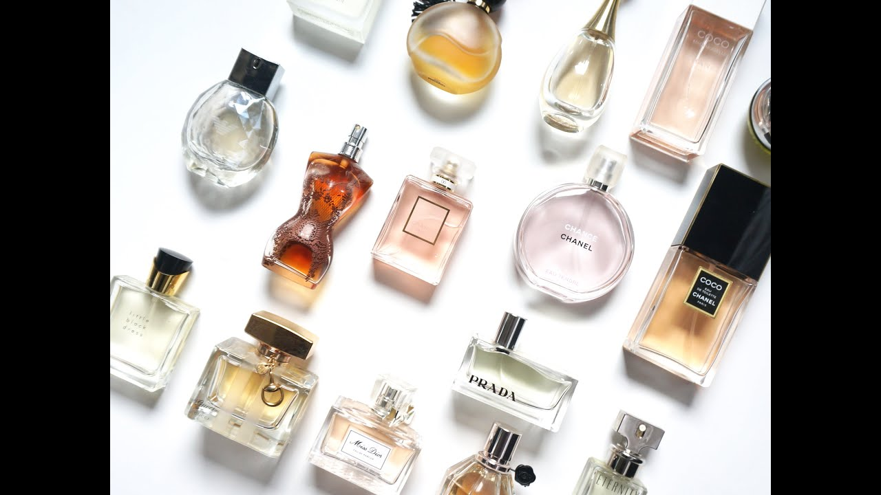 Perfume Fragrance Collection Chanel Dior Prada Gucci More