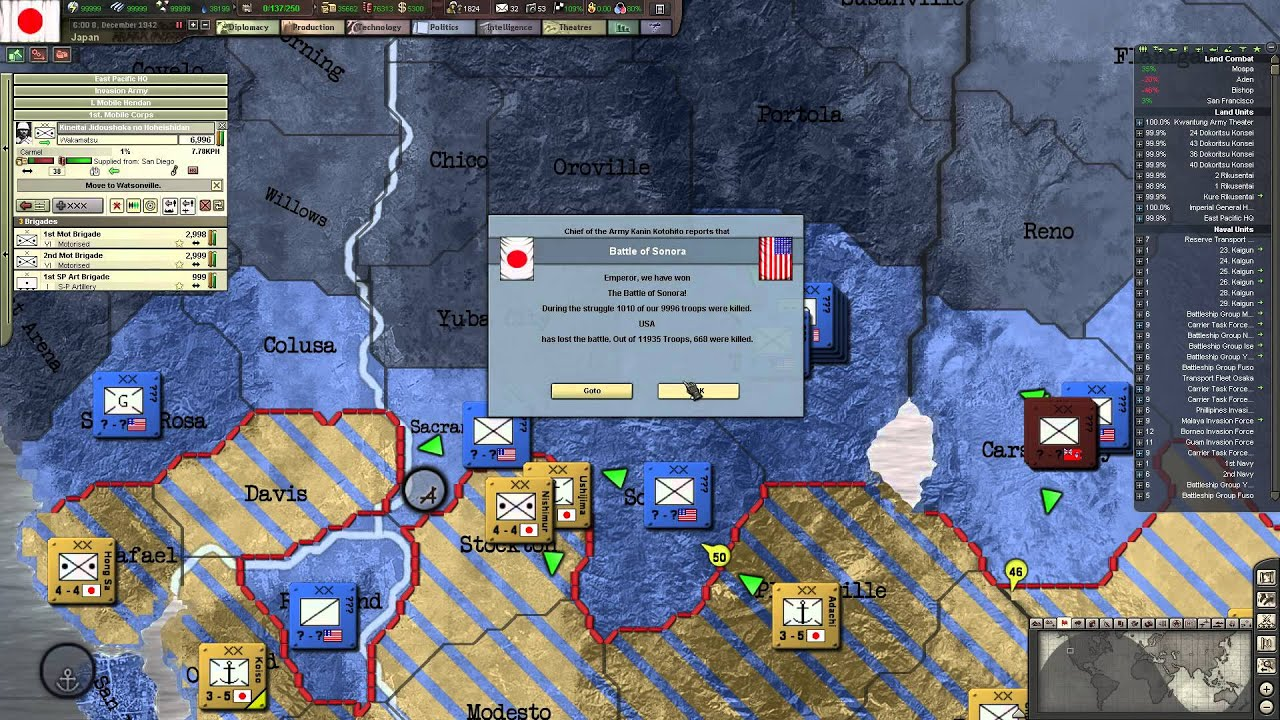 Tok plays HoI3 - Japan ep  91 - West Vs  East